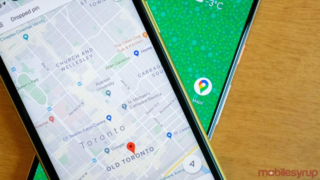 Google Maps rolling out rounded search bar design on Android