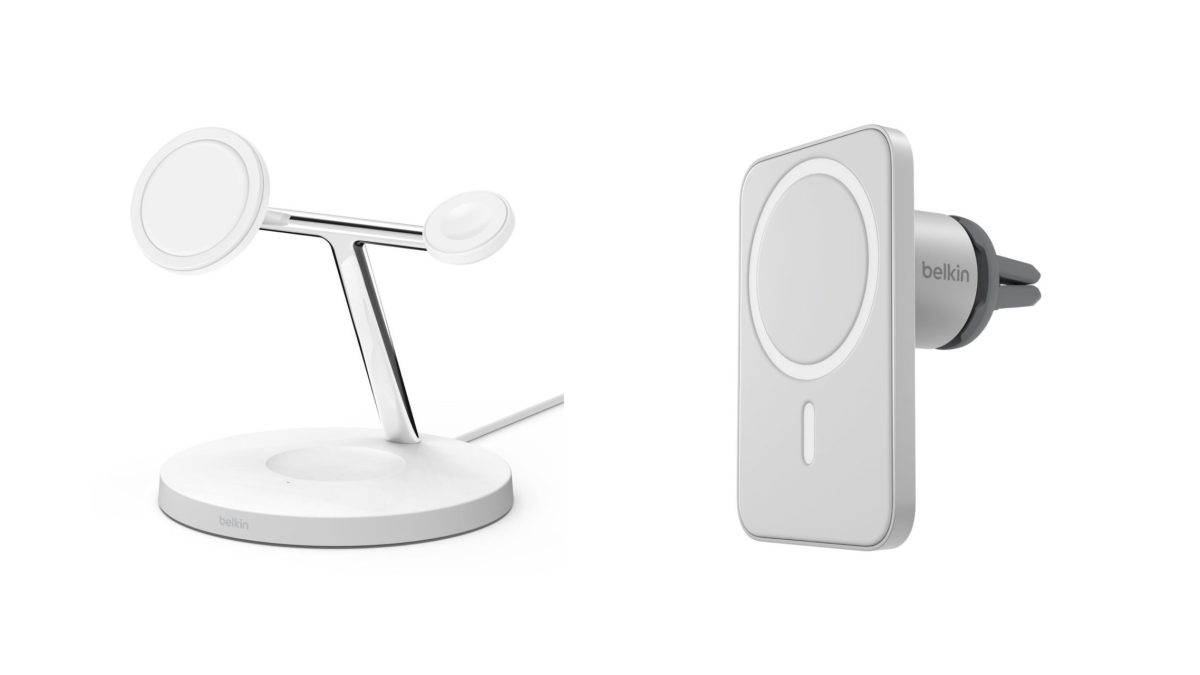 [Update: Belkin Car Mount now available from Apple] Belkin teases MagSafe accessories for iPhone 12