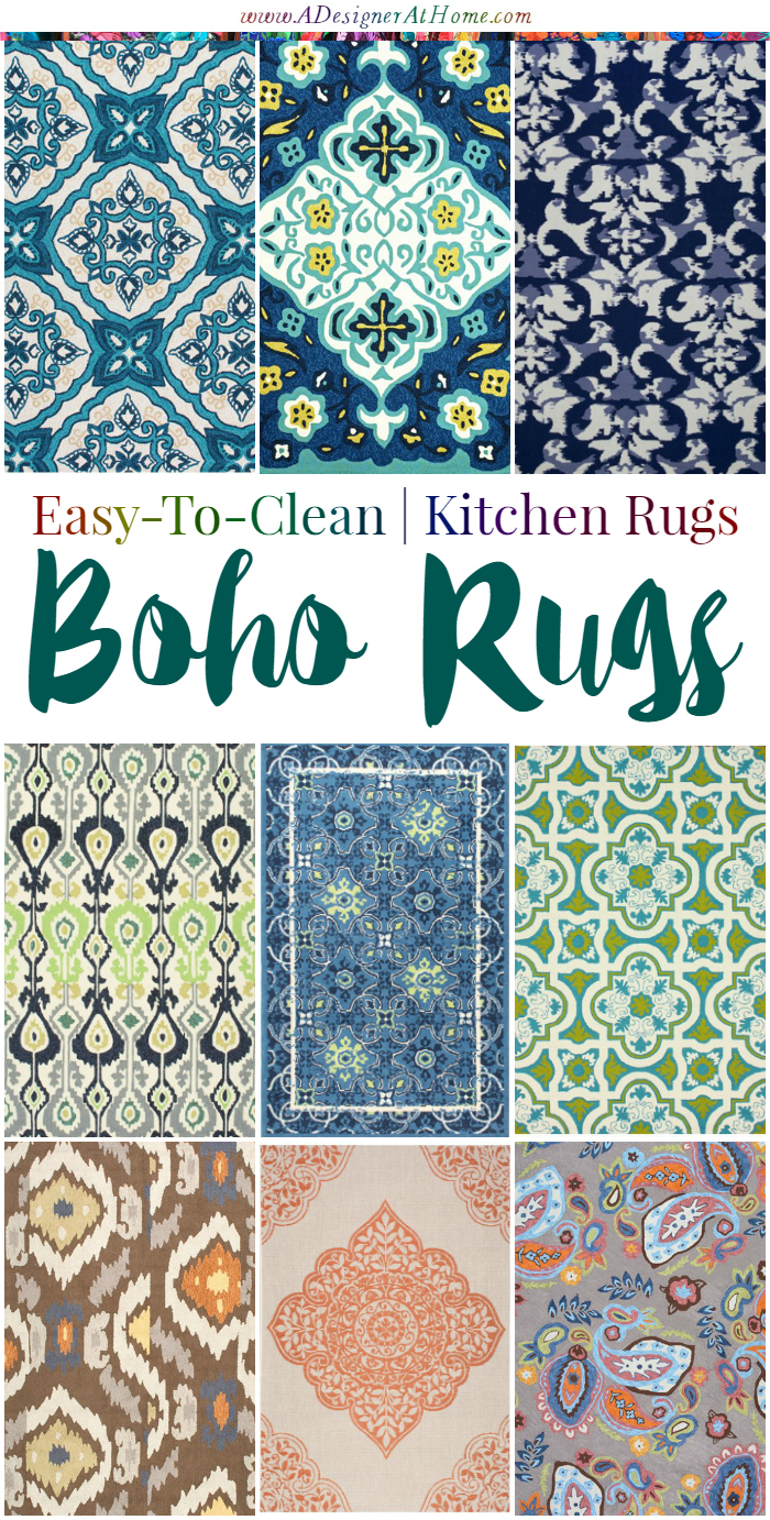 Easy To Clean Kitchen Rugs A Designer At Home