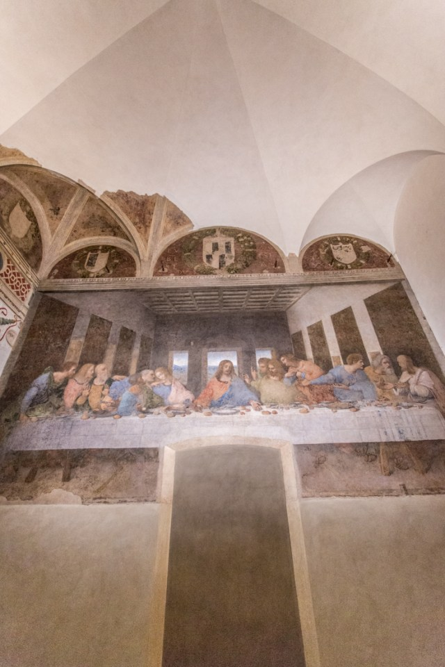 Leonardo DaVinci's The Last Supper Painting on the wall of the Santa Maria delle Grazie | The Ultimate Guide to Milan Design Week