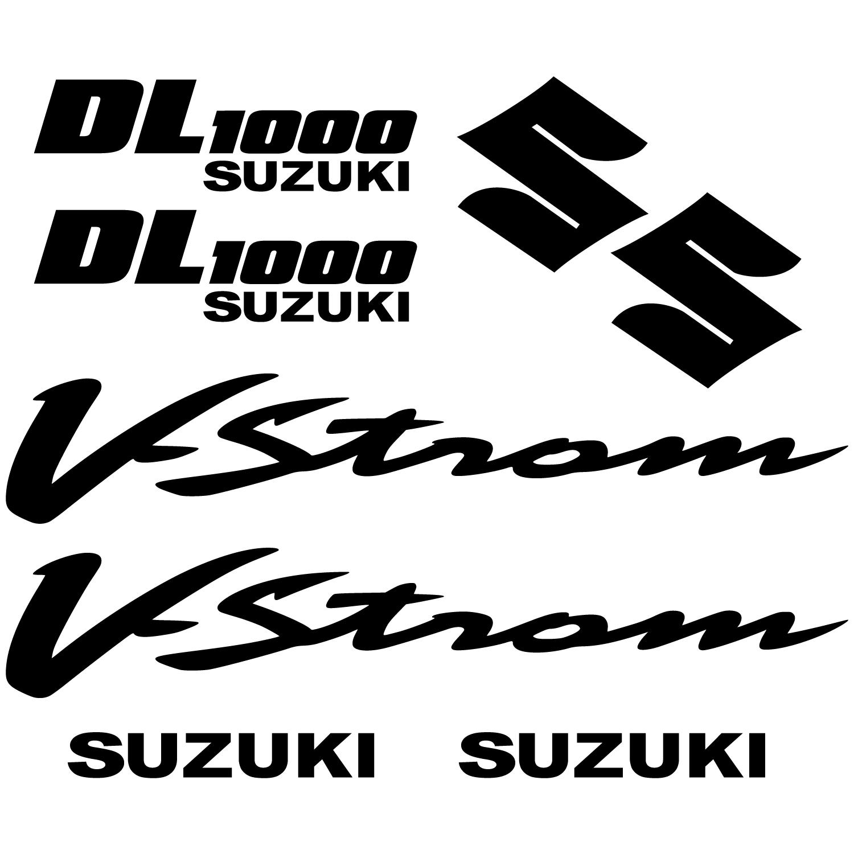 Adesivi Follia Kit Adesivo Suzuki Dl Vstrom