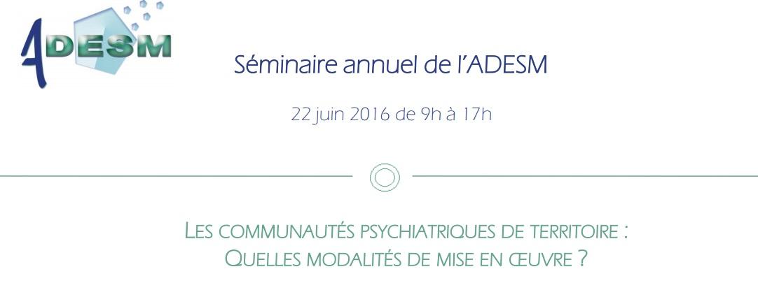Invitation ADESM 2016