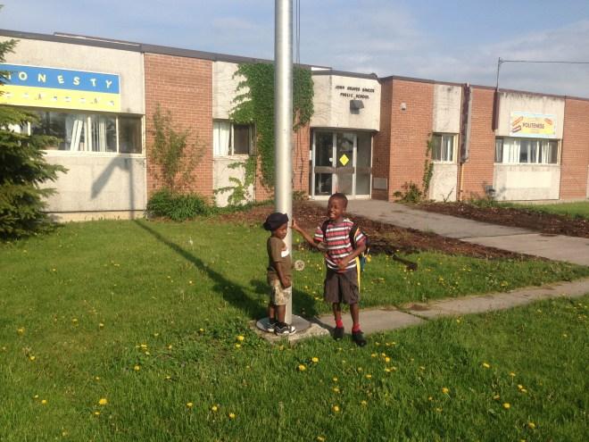 J G Simcoe - Demi's school
