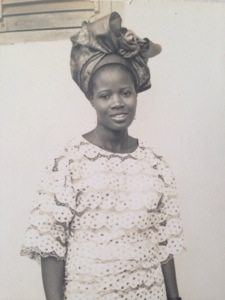 My beautiful mom - Oluremi Sobanjo