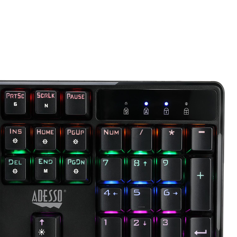 Multi Color Illuminated Mechanical Gaming Keyboard