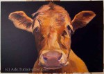 Cow painting alkyd building up