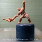 Hulk vs Spiderman macquette