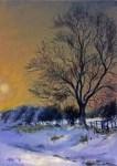 Snowy Lane at Northycote