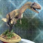 Allosaurus front dinosaur