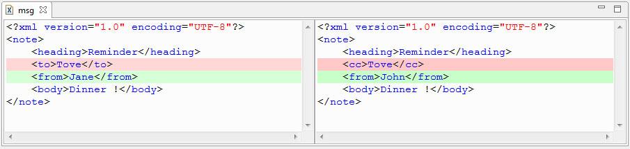 XML Compare adeveloperdiary