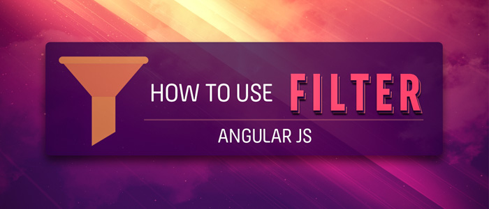 How to use Filter in Angular JS