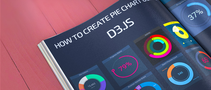Create Pie Charts using D3.js
