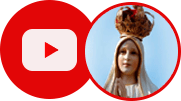 Logo do Canal Devotos de Fátima no Youtube