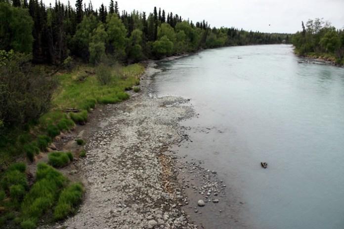 Kasilof Site and River, Alaska Fisheries Sonar, Alaska Department of Fish and Game