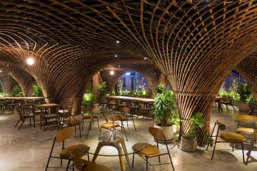 Nocenco cafe designed by Vo Trong Nghia