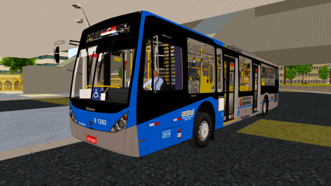 Proton Bus Simulator: Mod Caio Millennium III (Download) | By: Eduardo Felipe