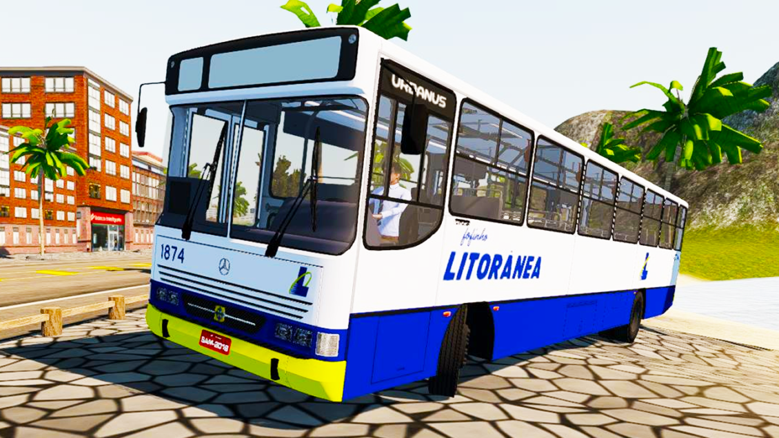 Mod do Urbanus 94 OF-1620 para Proton Bus Simulator