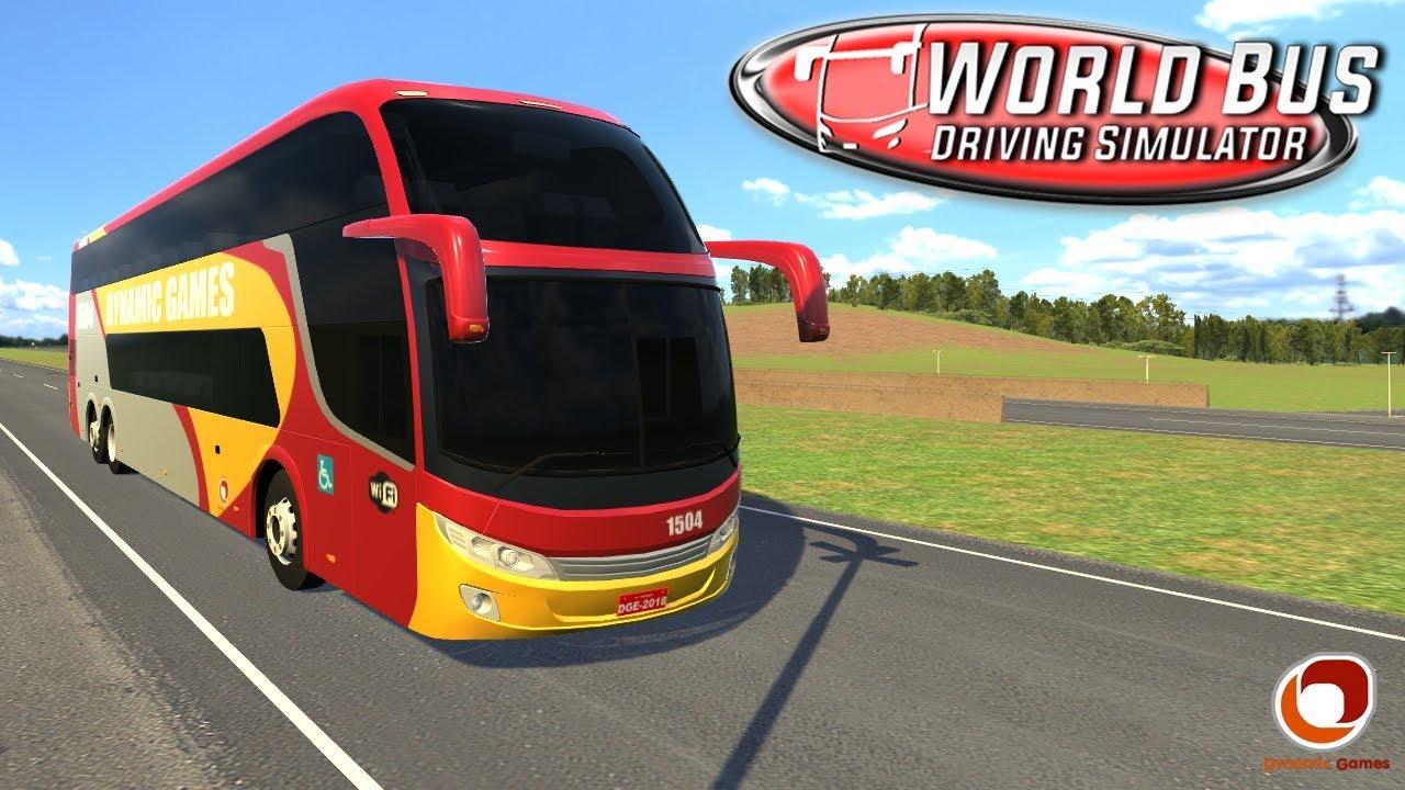 Ônibus no World Bus tem som de motor de carro, por quê?