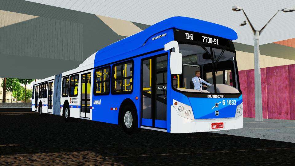 Mod do Busscar Urbanuss 2010 Low Floor (Articulado) para Proton Bus Simulator