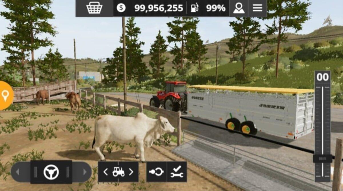 Farming Simulator 20: Novas imagens do jogo mostram HUD e gráficos no Android