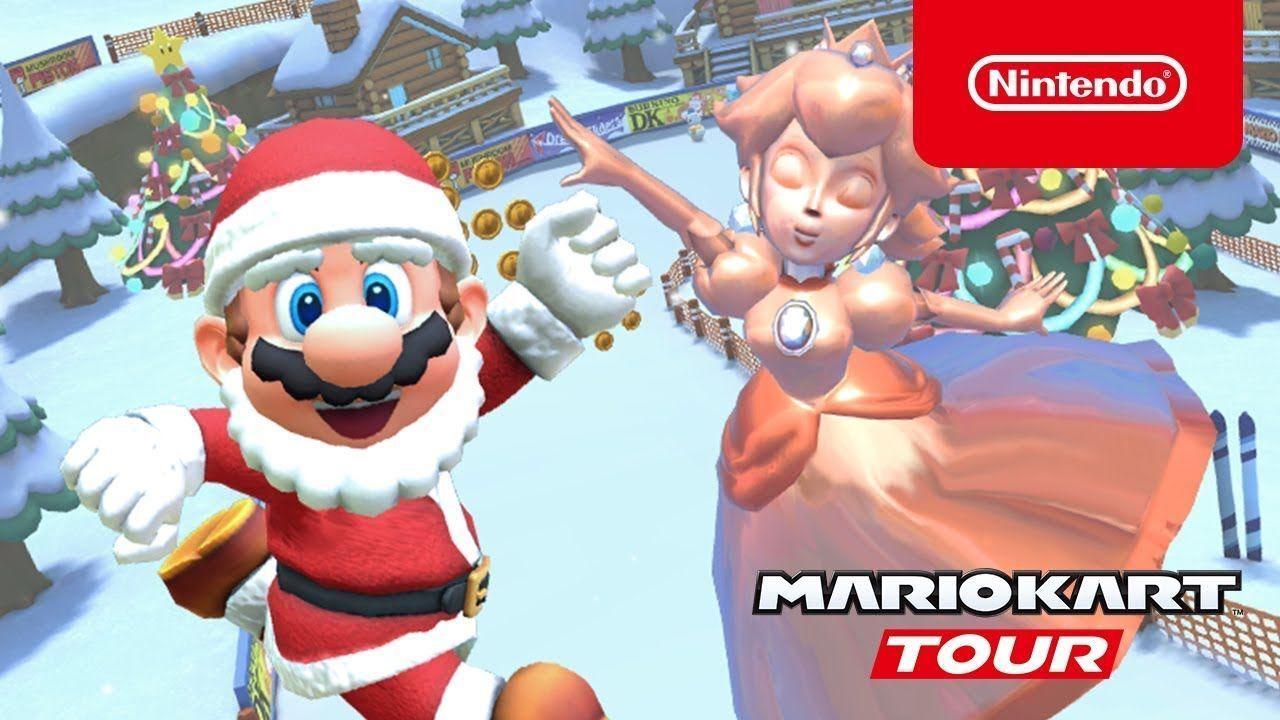 Mario Kart Tour recebe atualização de inverno, veja as recompensas disponíveis