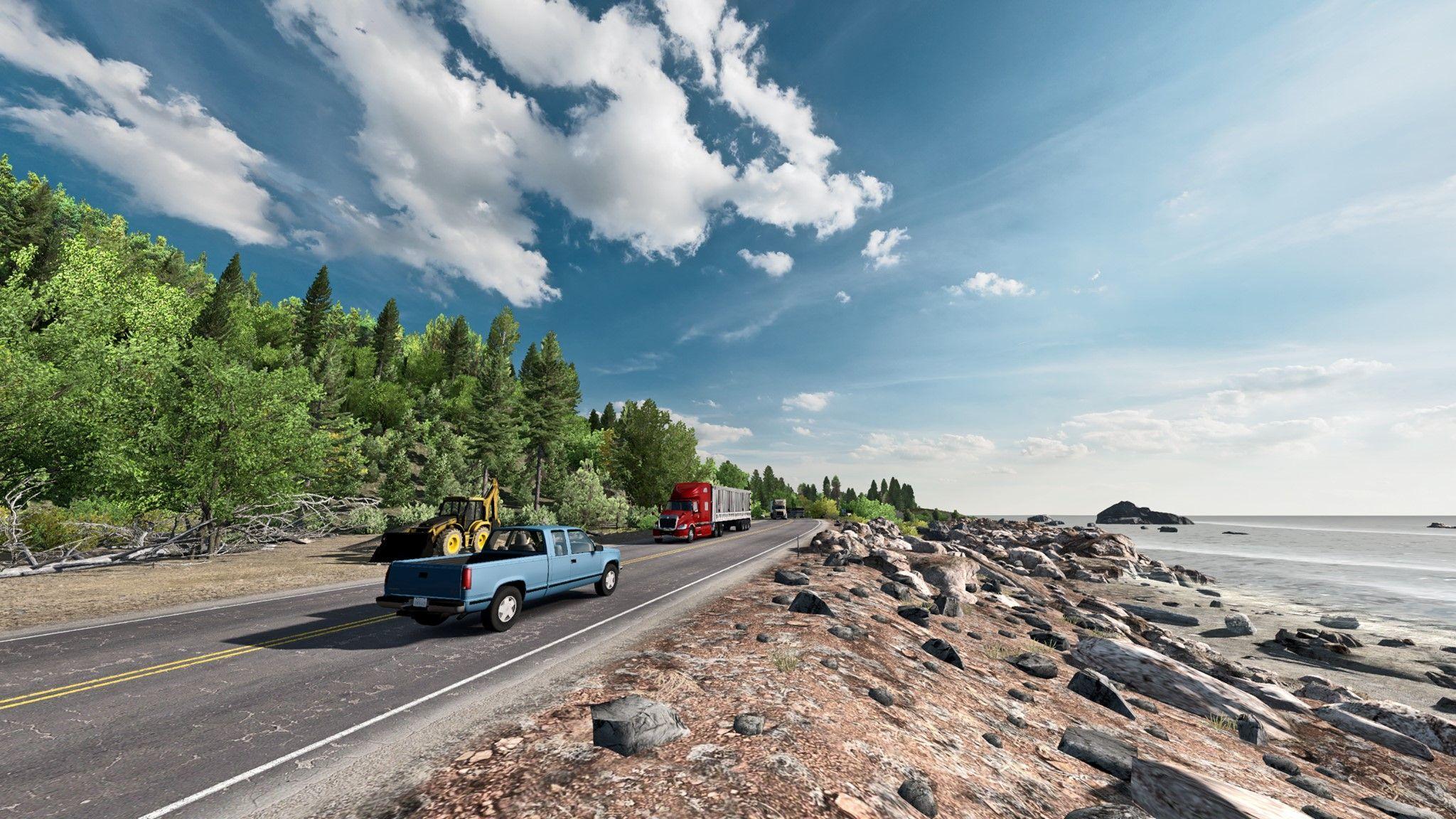 American Truck Simulator e DLC's permanecem em promoção!