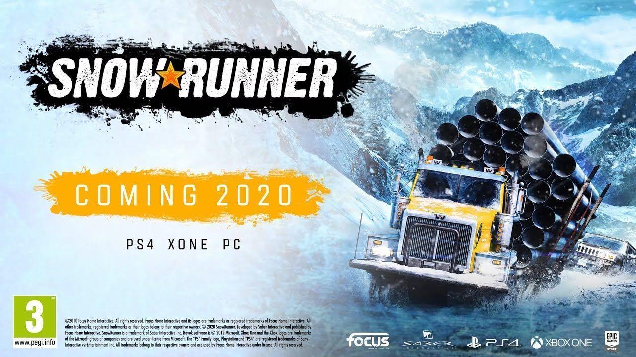 Season Pass é confirmado no Snow Runner, e novo veículo é apresentado