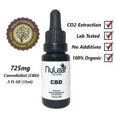 Nuleaf naturals, Nuleaf naturals 725mg cbd oil