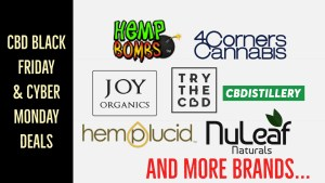 CBD Cyber Monday, Black Friday, Green Monday