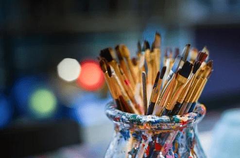 hobby schilderijen verfen en maken