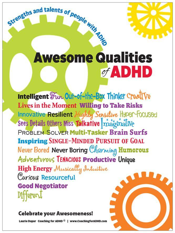 Celebrate the Strengths of ADHD! - #ADHDKidsRock