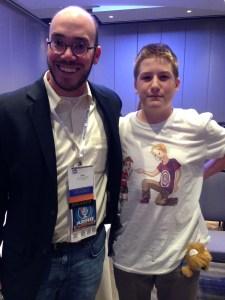 Meeting ADHD Celebrities like Eric Tivers at #CHADD