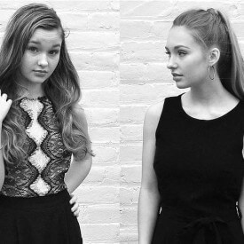 Claire and Gabby from The Trend Sisters #adhdkidsrock