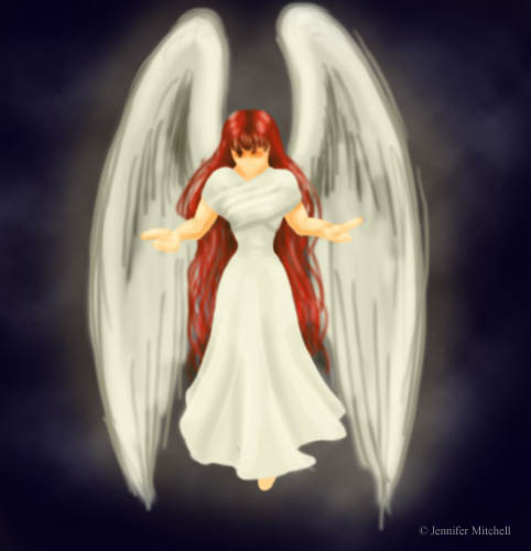Red Headed Angel Adhemlenei