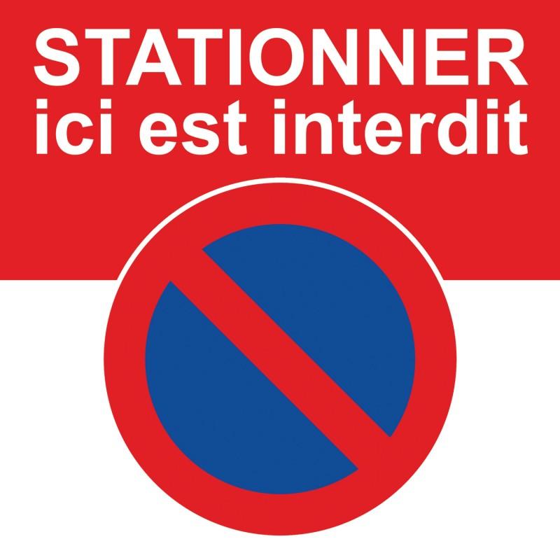 Stickers A Coller Sur Des Voitures Mal Garees Stationnement Interdit