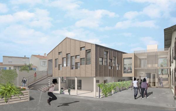 Locaux scolaires pour l'OGEC Saint Pierre à Rezé
