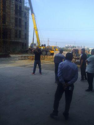 河南省安阳市龙安区申家岗教堂被强拆十字架 3