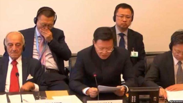 """联合国一委员会要中国回答数百万维吾尔人被""""再教育""""问题"""