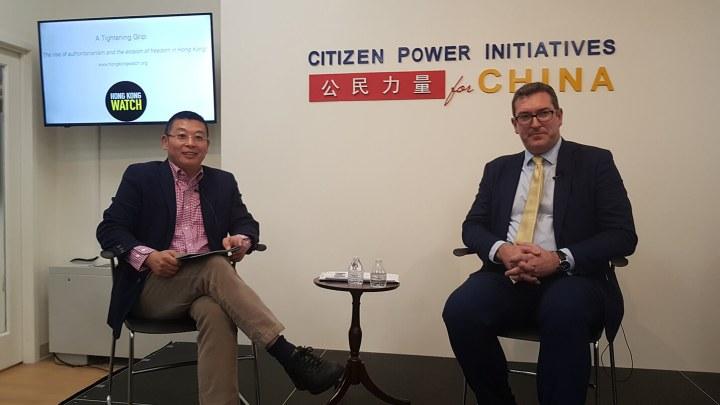 英国人权领袖:香港自治岌岌可危