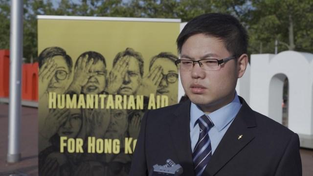 保护人权与宗教自由协会志愿者闫成接受本站采访