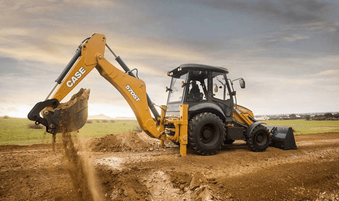 apa itu backhoe loader