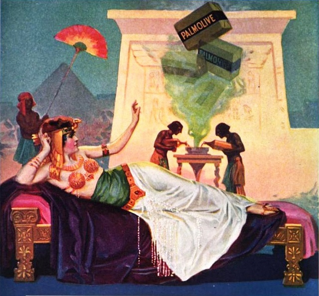 Palmolive Soap Ad, 1917, Image by Captain Geoffrey Spaulding, via Flickr