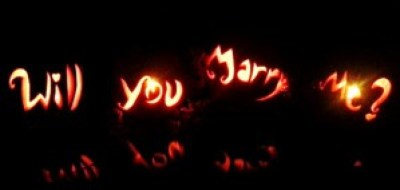 Will You Marry Me In Halloween Pumpkins Proposal Idea