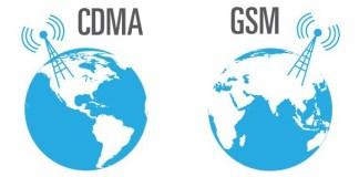 CDMA y GSM