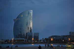En su interior cuenta con 26 plantas, 473 habitaciones y suites con vista panorámica hacia el mar y a la ciudad. Es un lugar muy concurrido y uno de los más fotografiados de la playa la Barceloneta.