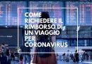 Coronavirus e consumatori: rimborsata la prenotazione per un viaggio annullato