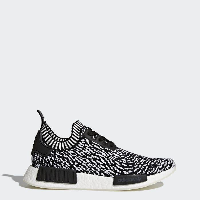 Adidas NMD_R1 Black Wihte Zebra SKU BY3013