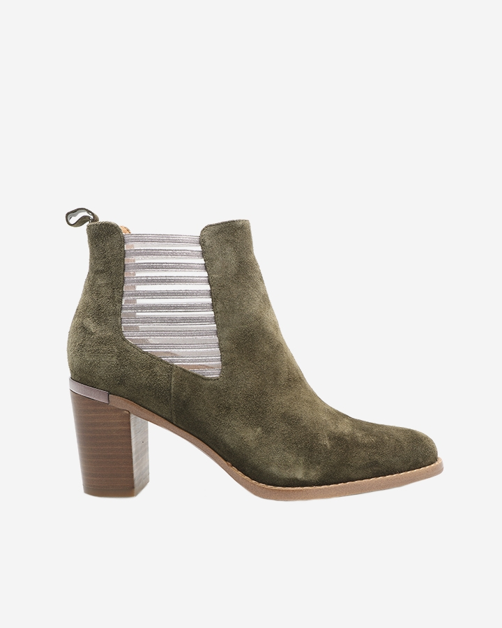 Boots bottine Caren kaki