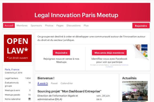 Open Law : « Économie Numérique du Droit »