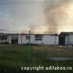 incendiu fabrica de ciocolata Beius 1